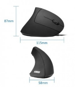 Quick Review: Anker Vertical Ergonomic Optical USB Wired Mouse